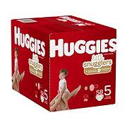 Huggies Little Snugglers Diapers 62 ct