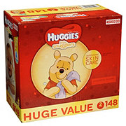 Huggies Little Snugglers Diappers Value Pack, 148 Count