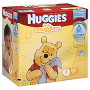 Huggies Little Snugglers Supreme Giant Pack Diapers, 132 Count