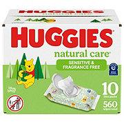 Huggies Natural Care Plus Baby Wipes