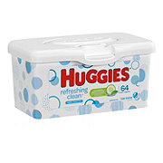 Huggies Naturally Refreshing Wipes, Tub