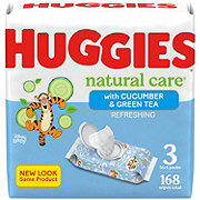 Huggies One & Done Refreshing Triple Clean Cucumber and Green Tea Wipes