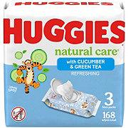 Huggies One & Done Refreshing Triple Clean Cucumber and Green Tea Wipes