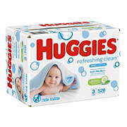 Huggies One & Done Wipes Case