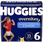 Huggies OverNites Diapers Jumbo, 18 ct