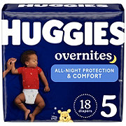 Huggies OverNites Diapers Jumbo, 21 ct