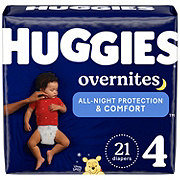 Huggies OverNites Diapers Jumbo, 24 ct