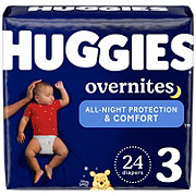 Huggies OverNites Diapers Jumbo, 28 ct