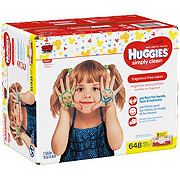Huggies Simply Clean Wipes Fragrance Free Case