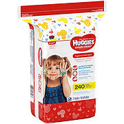 Huggies Simply Clean Wipes Fragrance Free Refill