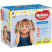 Huggies Simply Clean Wipes Fresh Scent Case