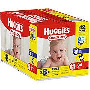Huggies Snug & Dry Big Pack Diapers, 84 ct