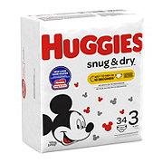 Huggies Snug & Dry Diapers, 34 ct