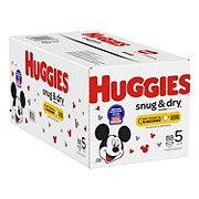 Huggies Snug & Dry Diapers JR, 96 ct