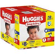 Huggies Snug and Dry Disney Big Pack Diapers, 80 ct