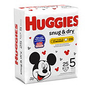 Huggies Snug & Dry Diapers 25 ct