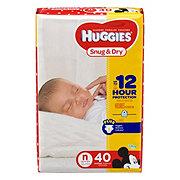 Huggies Snug & Dry Diapers, 40 ct