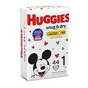 Huggies Snug & Dry Diapers 44 ct