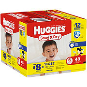 Huggies Snug & Dry Diapers 48 ct