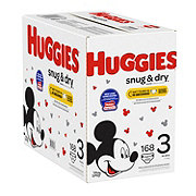Huggies Snug & Dry Diapers Giant Disney Mickey Mouse, 180 ct