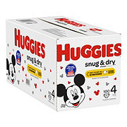 Huggies Snug & Dry Diapers JR, 112 ct