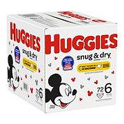 Huggies Snug & Dry Diapers JR, 80 ct
