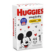 Huggies Snug & Dry Disney Mickey Mouse Jumbo Diapers, 44 ct
