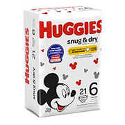 Huggies Snug & Dry Jumbo Diapers, 21 ct
