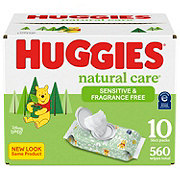 Huggies Wipes Natural Care Fragrance Free Huge Value