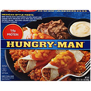 Hungry Man Mexican Style Fiesta
