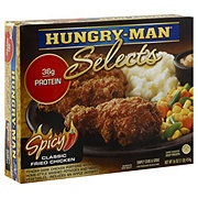Hungry Man Selects Spicy Classic Fried Chicken
