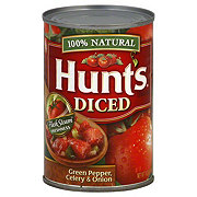 Hunt's Diced Tomatoes with Green Pepper Celery and Onion