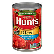 Hunt's Diced Tomatoes with Rosemary and Oregano