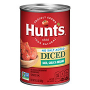 Hunt's No Salt Added Diced Tomatoes with Basil, Garlic & Oregano
