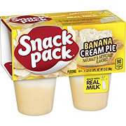 Hunt's Snack Pack Banana Cream Pie Pudding Cups