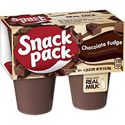 Hunt's Snack Pack Chocolate Fudge Pudding Cups