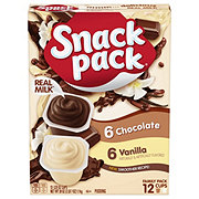 Hunt's Snack Pack Vanilla & Chocolate Pudding Cups Family Pack