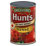 Hunt's Stewed Tomatoes No Salt Added