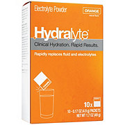 Hydralyte Electrolyte Maintenance Powder Orange, 10 CT