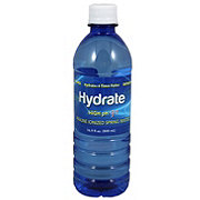 Hydrate Alkaline Water High PH 9+ 16.9 Oz