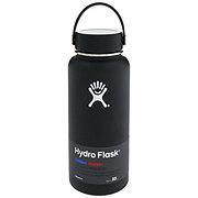 Hydro Flask Wide Mouth Flex Cap Black Water Bottle