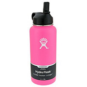 Hydro Flask Wide Mouth Straw Lid, Flaming