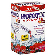 Hydroxycut Advanced Instant Drink Packets Wild Berry