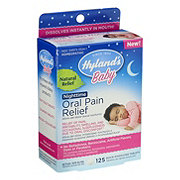 Hyland's Baby Oral Pain Relief Nighttime Tablets
