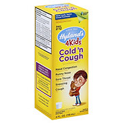 Hylands 4 Kids Cold 'N Cough Homeopathic Sugar Free Multi-Symptom Oral Solution For Ages 2 And Over