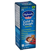 Hylands 4 Kids Nighttime Cold 'N Cough Multi-symptom Sugar Free