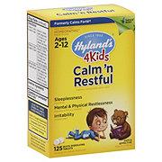 Hylands 4Kids Calm 'n Restful Ages 2-12 Quick-Dissolving Tablets