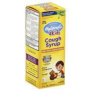 Hylands Cough Syrup 100% Natural Honey 4 Kids