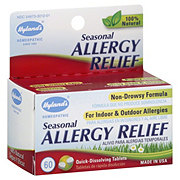 Hylands Natural Seasonal Allergy Relief Quick-Dissolving Tablets