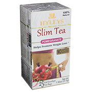 Hyleys Slim Tea Pomegranate Tea Bags Shop Tea At H E B